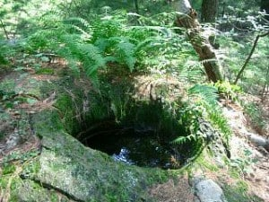 image of hole at Cider Mill